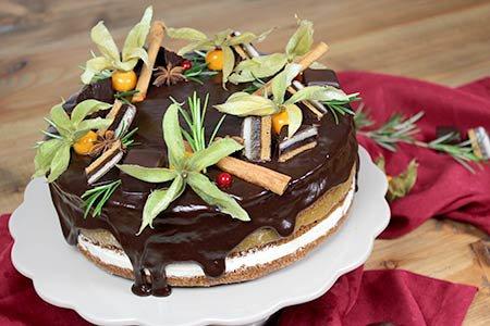 Dominostein-Torte