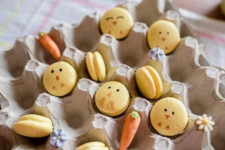 Küken Macarons