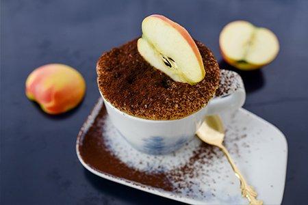 Apfel Tassenkuchen