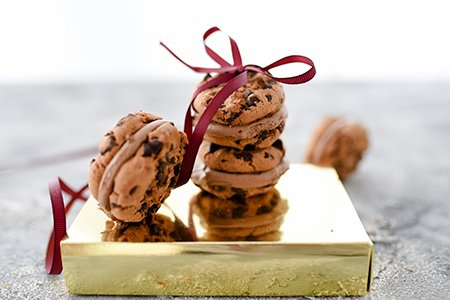 Schoko Cookies / Eis Sandwiches