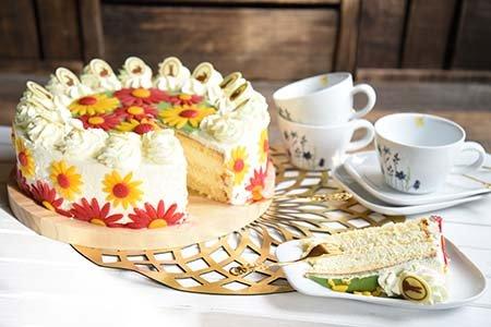 Osterblüten-Torte