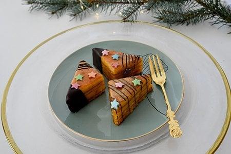 Baumkuchen-Ecken