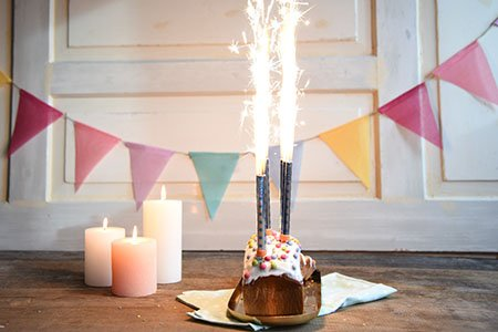 Geburtstags-Zitronenkuchen