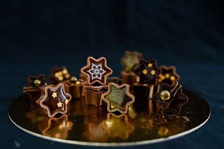 Nougat-Karamell-Sterne