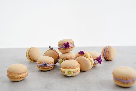 Macarons natur