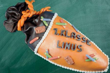 Schultüten-Torte