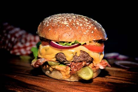 Süßkartoffel-Burger-Buns