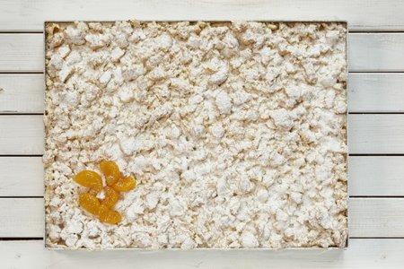 Käsekuchen Mandarine mit Streuseln