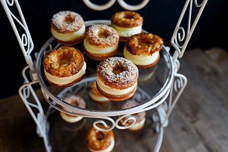 Bienenstich-Donuts
