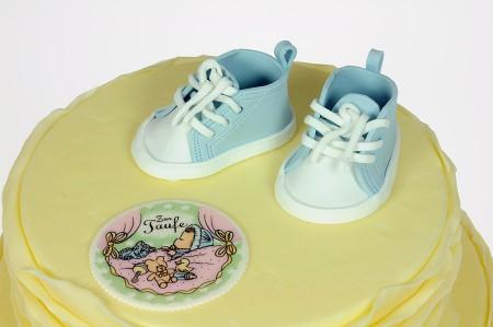 Babyschühchen-Vorlage