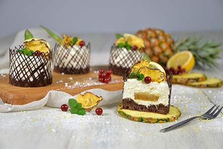 Ananas-Zitronen-Dessert