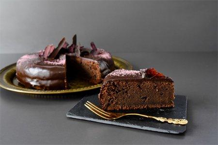 Rote Bete Cassis Kuchen