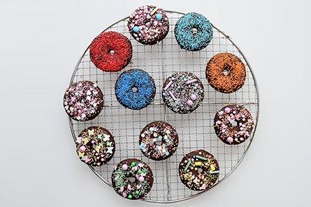 Donuts mit Streuseln