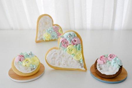 Muttertags Blumen Kekse