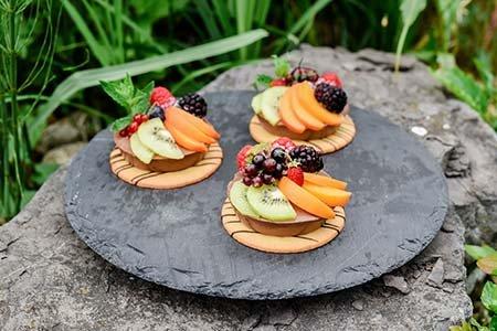 Frozen Mousse Dessert