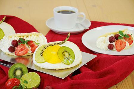 Sahne-Omelettes