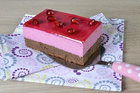 Granatapfel Cheesecake